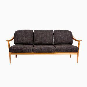 Canap noir en cuir de walter knoll 1960s en vente sur pamono for Canape walter but