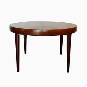 Runder Tisch aus Rio Palisander, 1960er