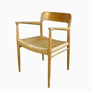 Dänischer No. 56 Stuhl aus Eiche von Niels O. Møller für J.L. Møllers, 1950er