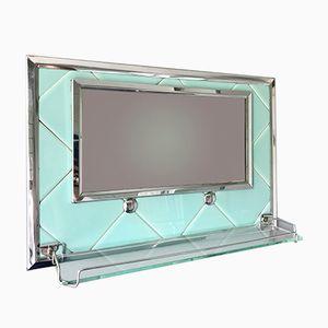 Vintage Bathroom Mirror with Shelf