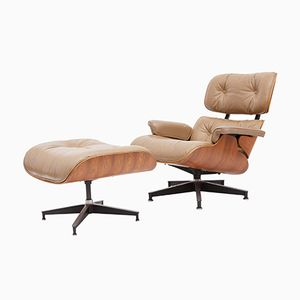 Vintage Lounge Chair & Ottoman by Charles & Ray Eames for Herman Miller, 1978