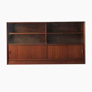 Teak & Glass Bookcase from Herbert E. Gibbs, 1960s