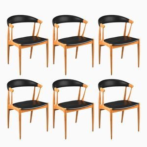 BA 113 Dining Chairs by Johannes Andersen for Brødere Andersen Møbelfabrik, 1967, Set of 6