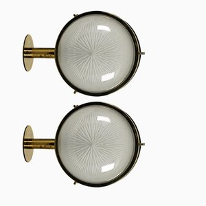 Sigma Wall Lights by Sergio Mazza for Artemide, 1960s, Set of 2