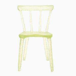 Yellow Glow Chair by Kim Markel, 2017