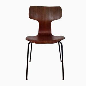 3103 Teak Stühle von Arne Jacobsen für Fritz Hansen, 1964, 2er Set