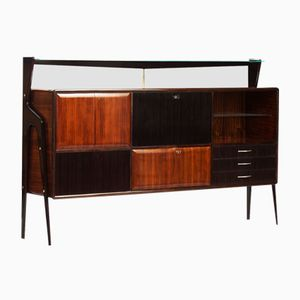 Mid-Century Italian Sideboard with Dry Bar