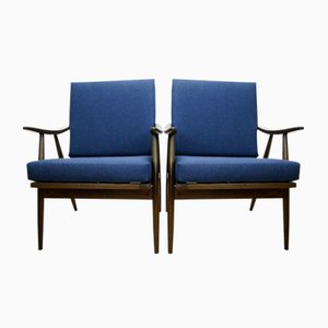 Czechoslovak Armchairs from TON, 1960s, Set of 2