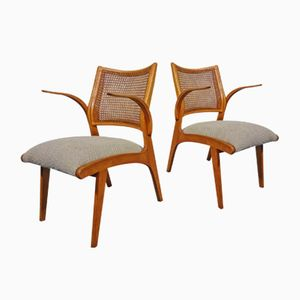 Mid-Century Armchairs by Bengt Akerblom for Akerblom, Set of 2