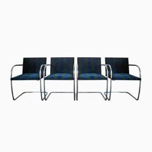 Vintage Brno Chair by Ludwig Mies van der Rohe, Set of 4