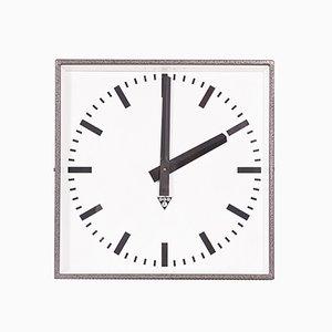 Industrial Czech C 401 Wall Clock from Pragotron, 1980s