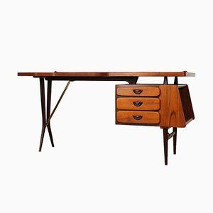 Vintage Schreibtisch von Louis van Teeffelen für WéBé