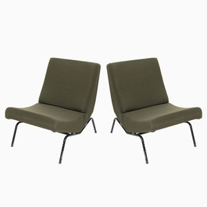 CM194 Chairs by Pierre Paulin for Thonet, 1955, Set of 2