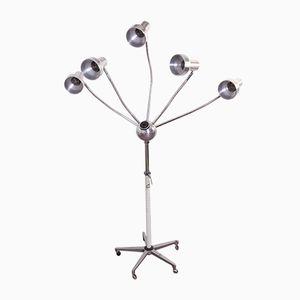 Fünfarmige Bodenlampe, 1960er