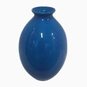 Art Déco Baluster Vase by Frères Boch for La Louvière, 1930s