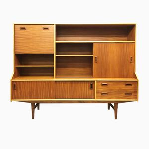 Mid-Century Teak Sideboard oder Highboard von Elliots of Newbury