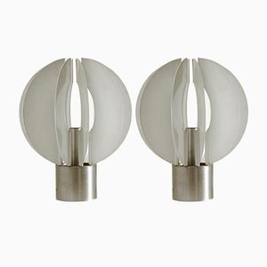 Mid-Century Italian Table Lamp, 1970s, Set of 2