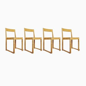 Vintage Stacking Chairs by Sven Markelius for Bodafors, Set of 4