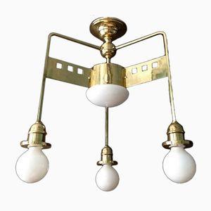 Vintage Jugendstil Wiener Sezession Deckenlampe