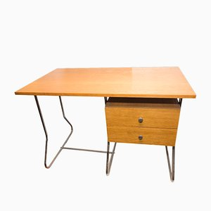 Mid-Century Czech Chrome Plated Writing Desk from Kovona, 1950s