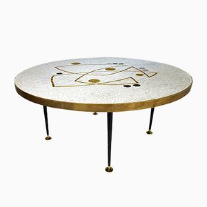 Vintage Mosaic Coffee Table