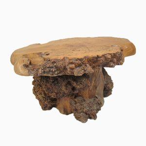 Vintage Couchtisch aus Massivem Holz