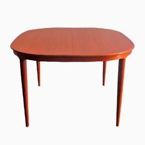 Vintage Rounded Square Table in Teak from Skovman & Andersen