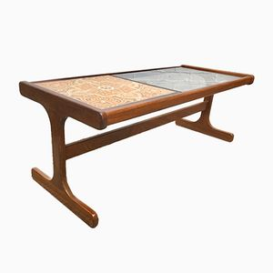 Vintage Tile and Glass Coffee Table from G-Plan