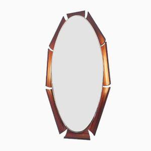 Vintage Italian Backlit Mirror by Franco Campo & Carlo Graffi