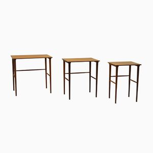 Vintage Danish Teak Nesting Tables