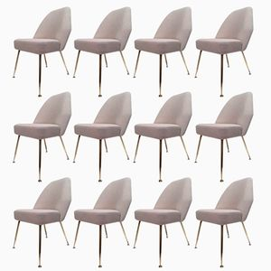 Vintage Campanula Chairs by Carlo Pagani for Arflex, Set of 12