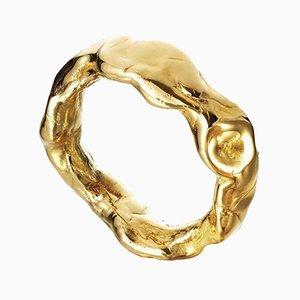 Bracelet en Résine Recouverte d'Or par Philippe Cramer, 2010