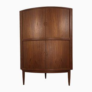 Scandinavian Vintage Teak Corner Cabinet, 1960s