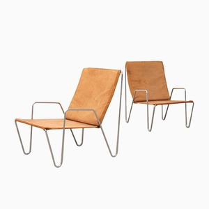 Mid-Century Bachelor Chairs by Verner Panton for Fritz Hansen, Set of 2