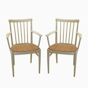 Vintage Herrgården Armchairs by Carl Malmsten for Bodafors, Set of 2