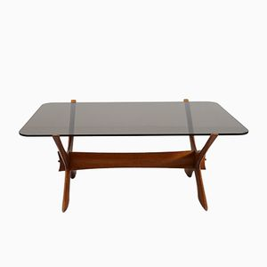 Vintage Condor Coffee Table by Fredrik Schriever-Abeln for Örebro Glas