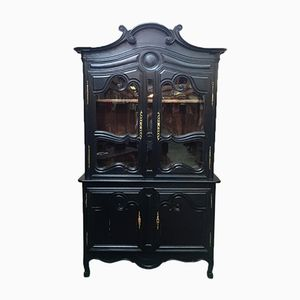 Antique Black Oak Buffet