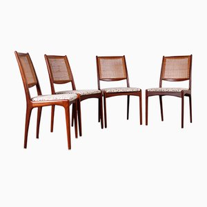 Chairs by K. Ekselius for JOC Vetlanda, 1950s, Set of 4