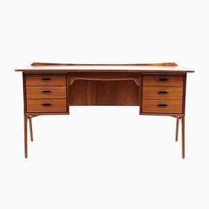 Vintage Palisander Schreibtisch von Svend Åge Madsen für Sigurd Hansen