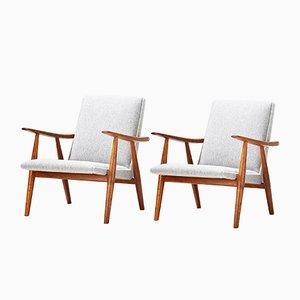 GE-260 Chairs by Hans Wegner for Getama, 1950s, Set of 2