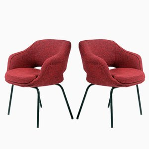 Small Armchairs by Cassina, 1960s, Set of 2