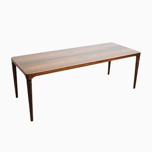 Vintage Long Danish Coffee Table in Rosewood