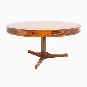Mid-Century Rosewood Drum Table by Robert Heritage for Archie Shine, 1960s