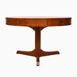 Teak Drum Table by Robert Heritage for Archie Shine, 1960s