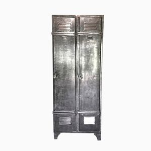 Vintage Industrial Locker from Boyaval & Cie, 1950s