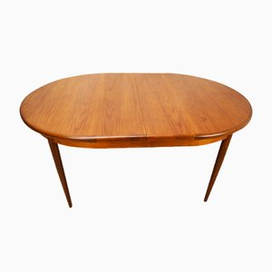 Vintage Oval Teak Table