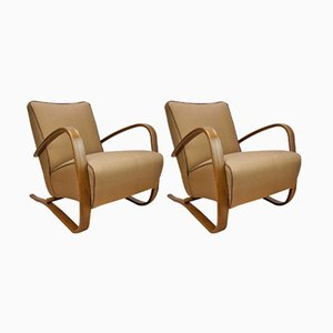 Vintage H-269 Armchairs by Jindřich Halabala for UP Závody, Set of 2