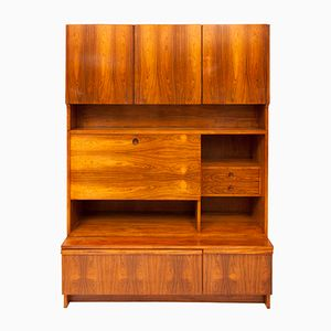Vintage Rosewood Wall Unit by Robert Heritage for Archie Shine