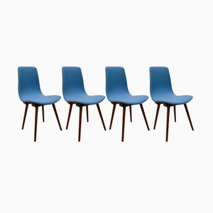 A-6150 Dining Chairs from Fameg, 1960s, Set of 4