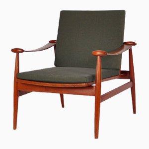 Model FD 133 Easy Chair by Finn Juhl for France & Daverkosen, 1954